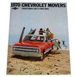 1970 Sales brochure for light duty trucks