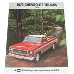 1973 Sales brochure