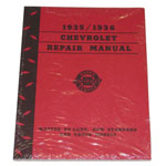 1935-1936 Shop manual book