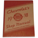 1938 Shop manual book