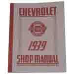 1939 Shop manual book
