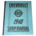 1940 Shop manual book