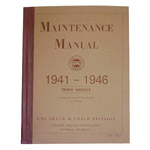 1941 Shop manual book