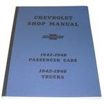 1942-1946 Shop manual book