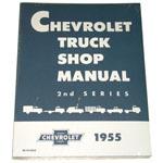 1955-1956 Shop manual book
