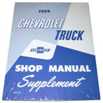 1959 Shop manual book