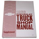 1966 Shop manual book supplement