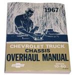 1967 Chassis overhaul manual book