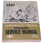 1967 Chassis service manual book