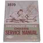 1970 Chassis service manual book