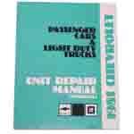 1981 Unit repair (overhaul) shop manual
