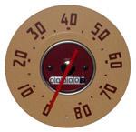 1948-1951 Speedometer mechanism only