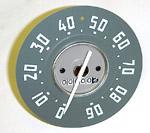 1952-1953 Speedometer mechanism only