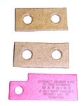 1955-1959 Gauge warning label set