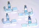 1957-1972 Spark plug wire heat shields