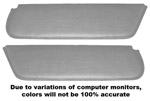1947-1955 Inside sunvisor pads