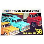 1958 Truck accessory brochure
