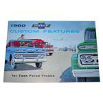 1960 Truck accessory brochure
