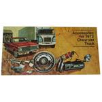 1972 Truck accessory brochure