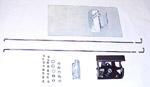 1967-1972 Tailgate handle relocator kit