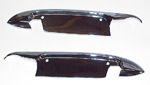 1952-1959 Door handle trim plates that protects paint from fingernail scratches