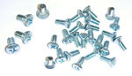 1955 (2nd Series) Door panel fastening screws
