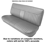 1981-1987 Upholstery (only) for bench seat