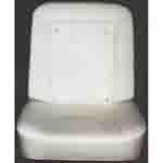 1967-1968 Bucket seat back & bottom foam