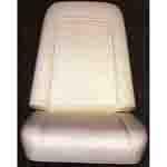1971-1972 Bucket seat back & bottom foam