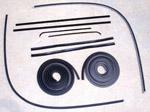 1951-1955 Door weatherstrip kit