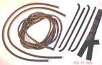 1955-1959 Door weatherstrip kit