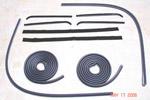 1960-1963 Door weatherstrip kit
