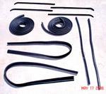1964-1966 Door weatherstrip kit
