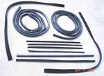 1967-1972 Door weatherstrip kit
