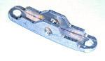 1939-1946 End bracket for windshield crankout strap
