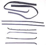 1964-1966 Window channel/felt kit