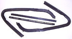 1951-1955 Front wing vent rubber weather strip