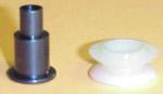 1955-1963 Window nylon roller and rivet for regulator arm