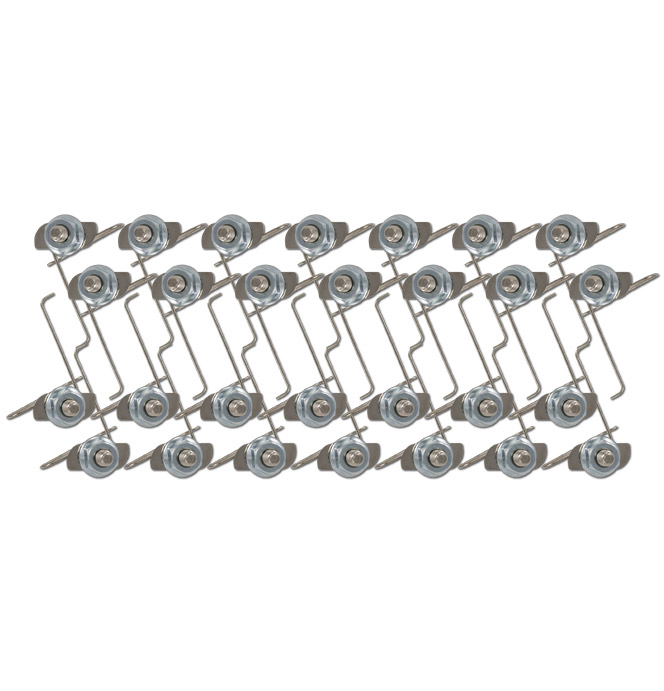 1967-1968 Clips for one grille moulding