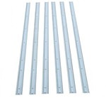 1973-1987 Center bed strips - Stainless