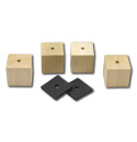 1947-1953 Bed mounting blocks and pads only