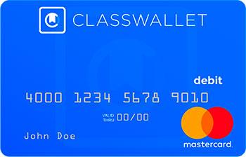 ClassWallet Declining Balance Debit Card