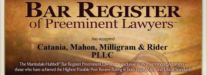 2016 Bar Register of Preeminent Lawyers
