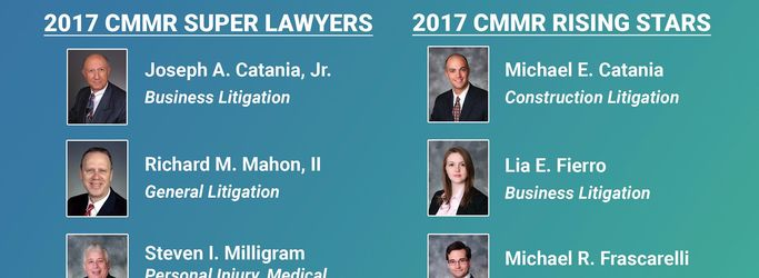 2017 Super Lawyers and Rising Stars Award Winners