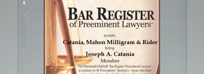 Bar Register of Preeminent Lawyers 2015