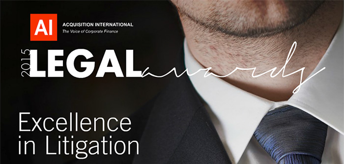 CMR selected in 2015 Legal Awards
