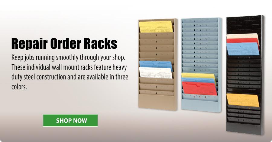 Repair Order Racks