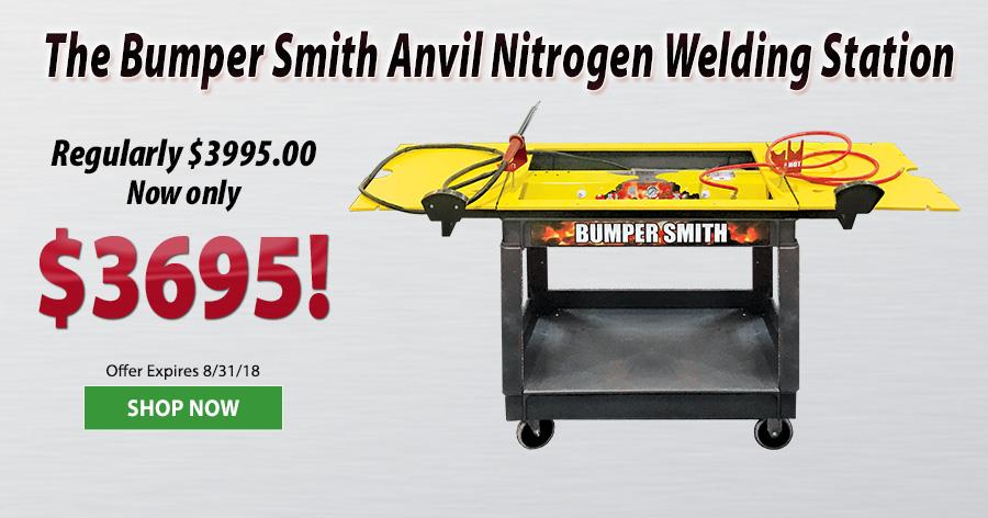 Bumper Smith Anvil Nitrogen Welding Station