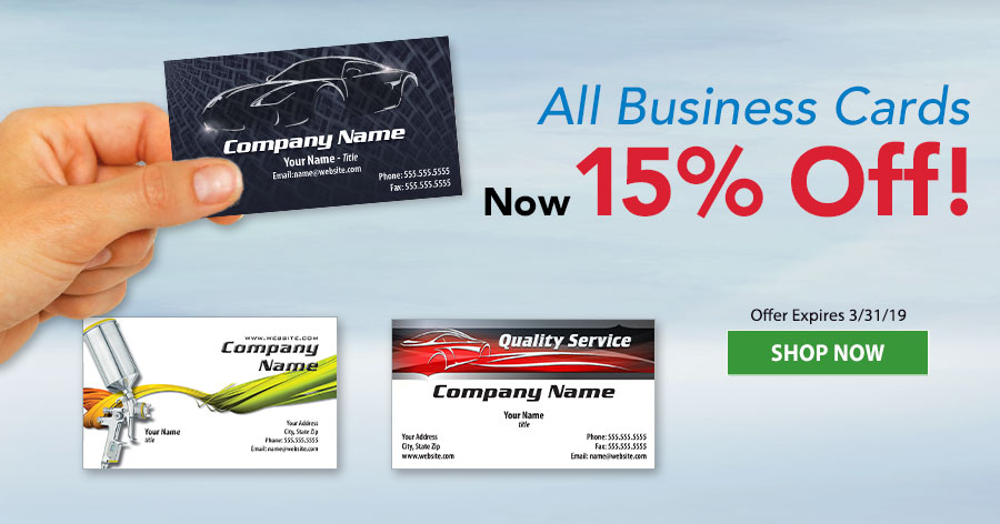 Business Cards 15% Off