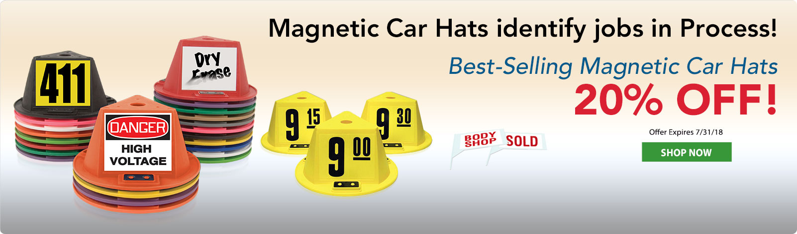 Magnetic Car Hats
